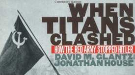 Image: Detail from cover of When Titans Clashed