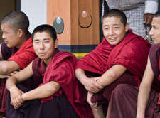 Buddhist Monks in Bhutan. (Photo: Steve Evans / Flickr)