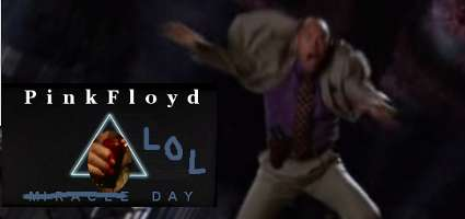 Torchwood: LOL Day. Apologies to Pink Floyd. Image manipulation by Geoffrey Dow.