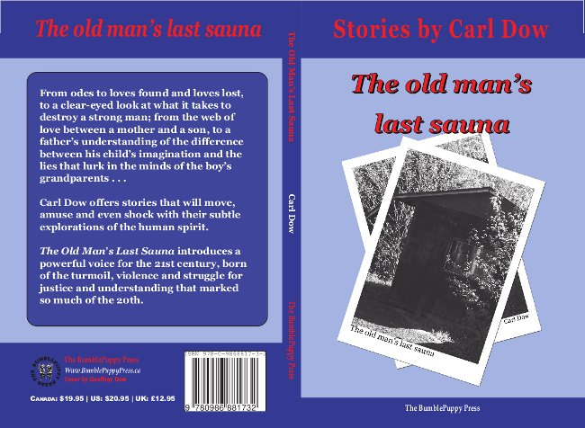 Image: Cover of The Old Man's Last Sauna by Carl Dow