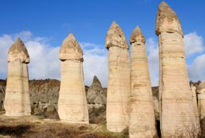 Photo: Penis-shaped standing stones.