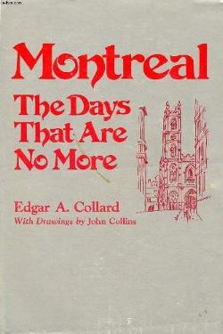 Image: Cover, Montreal the Days that are no More. Click to buy from Amazon.ca.