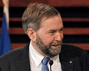"Image: NDP Leader Thomas ""Tom"" Mulcair."