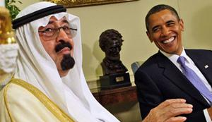 Image: US President Obama and Saudi Arabia's King Abdullah in June 2010 in the Oval Office of the White House. (photo: Ron Edmonds/AP)